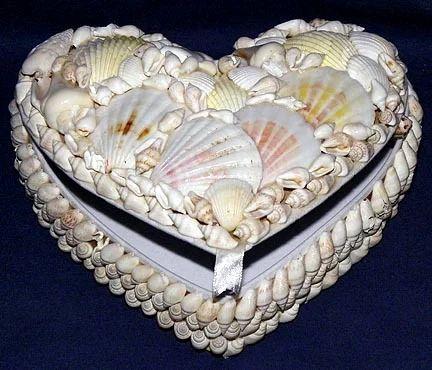 Seashell Jewelry Box Jewelry Box Kodungaiyur Chennai Crafts
