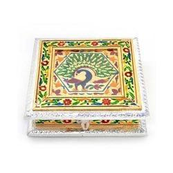 Pure Meenakari Work Dry Fruit Box -191