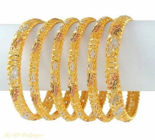 66aa2918a1f7c Stylish Gold Bangle, Gold Bangle   Hari Nagar, New Delhi   Sahni ...