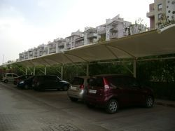 Cantilever Car Parking Shed
