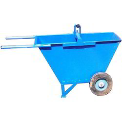 Dust Bin Trolley Double Wheel Barrow