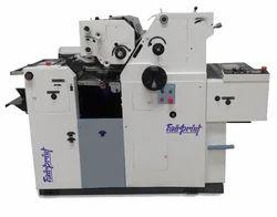 2 Color Satellite Non Woven Bag Printing Machine