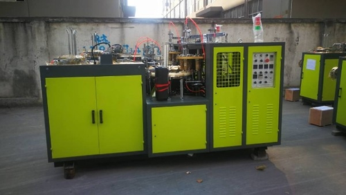Fully Auto Paper Cup Making Machine SBA-65A, ISQ 9001