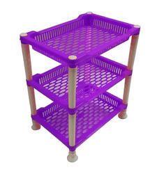 3 Shelf Plastic Kitchen Stand