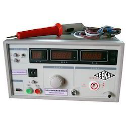 Helmet Electrical Resistance Tester