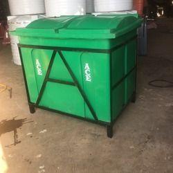 Community Bin with MS Frame & Wheels