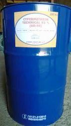 Cypermethrin (93%), Packaging Type: Drum