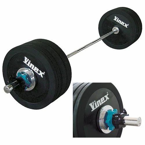 21043267b0e Vinex Rubber Olympic Barbell Set