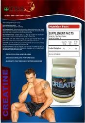 TSS Creatine Powder, Packaging Size: 300 grams