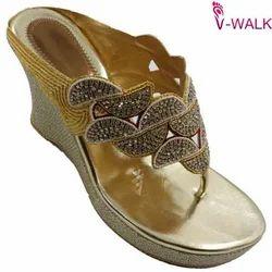 Ladies Wedge Bridal Wear Sandals 0859
