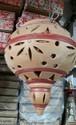Clay Hanging Lantern Lamp