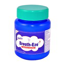 Breath-Eze Vaporizing Chest Rub 3.5 Oz (100g)