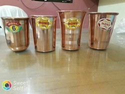 Monu Copper Glass, Size: 6-7-8