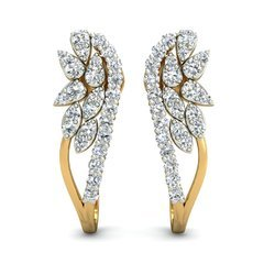 Hallmark 14k Gold Diamond Earring
