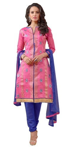 Silk Unstitched Ladies Suits, Ladies Salwar Kameez - Ethnicrays ...