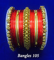Traditional Beaded Bangles