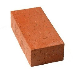 Rectungluer Dark Red Building Brick