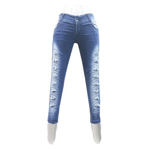 ee4f0f965 Ladies Damaged Jeans - Damage Ladies Jeans Manufacturer from Delhi