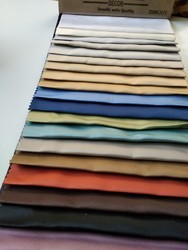 Plain 100 % polyester Blackout Fabric, GSM: 230-250
