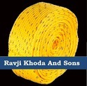 Ravji Khoda And Sons Yellow Hdpe Rope, Pp Rope, Pe Rope, Polyproplene Rope, For Industrial