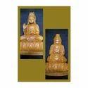 Sandalwood Lotus Buddha