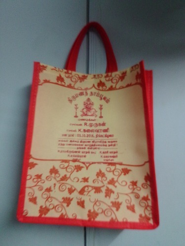 e331b290c83 Wedding bags - D Cut Thamboolam Bag Manufacturer from Chennai