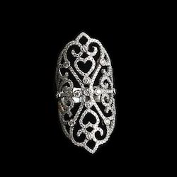 Floral Finger Ring