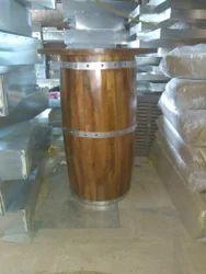 Barrel Bar Table