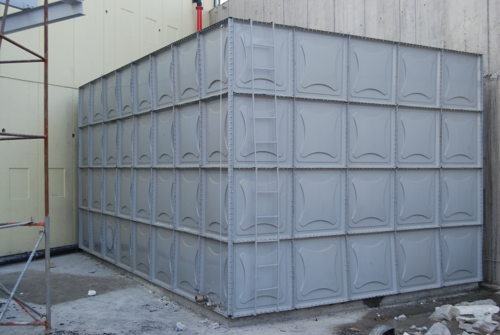 GRP Water Storage Tank