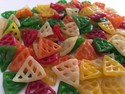 B.g.f Triangle Shaped Fryums, Packaging Size: 30kg