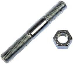 Black Mild Steel Single End Stud