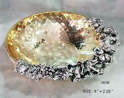 Gold Plated Flower Bowl