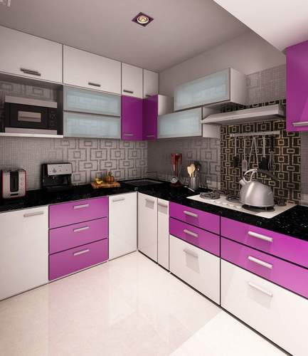 Interior Design In India Hyderabad: Stainless Steel Modular Kitchen At Rs 50000 /minute