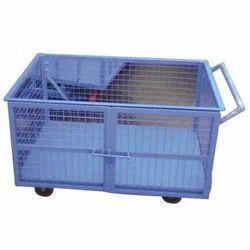 SHREEJI Metal Cart, Capacity: 100 To 1000 Kg, SI - 309