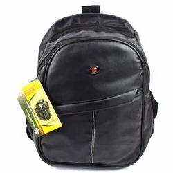 Black Trendy Casual Backpack