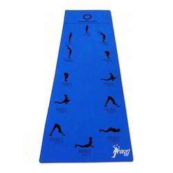 Sun Salutation Yoga Mat