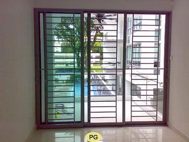 Grill Aluminium Sliding Windows Aluminium Domal Window Aluminum