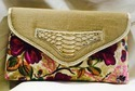 Fabulous Floral Clutch Bag