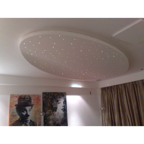 Cool White 12 W Star Ceiling Fiber Optic Lights Voltage 220 V Rs 20000 Pack Id 3949818373