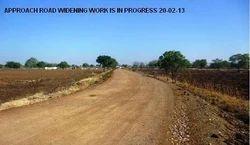 Approach Road Widening Work