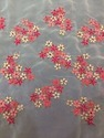 Multicolor Floral Embroidery Fabrics