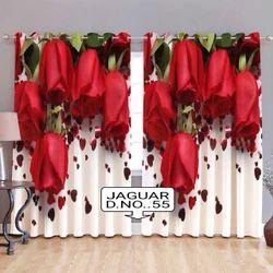 Digital Printed Doors Readymade Curtain
