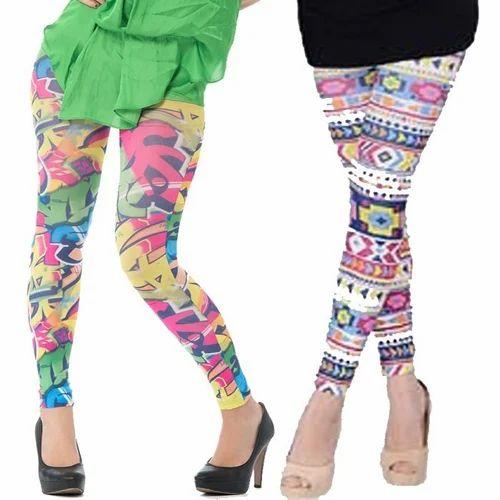 Kids Leggings - Lyra Kids Printed Leggings Wholesaler from Pune