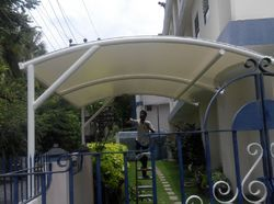 Garden Tensile Fabric Structures