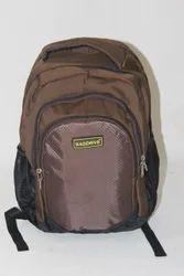 Black Polyester School Bag