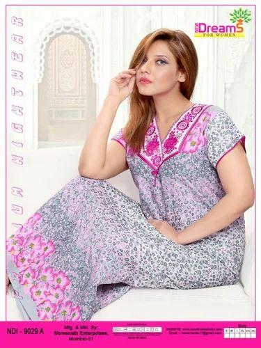 013d5309dd Women Cotton Nighty