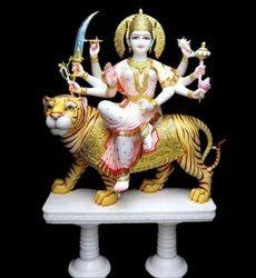 Marble Durga Moorti