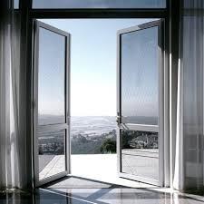 Toughened Glass Upvc Casement Doors, 6mm