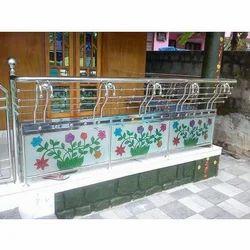 Decorated Steel Railing