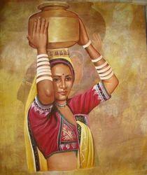Rajasthani Rural Paintings